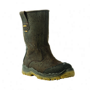 Dewalt Tungsten Rigger Safety Boot Brown